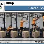 Seated Box Jump