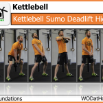 Kettlebell Sumo-deadlift High-pull