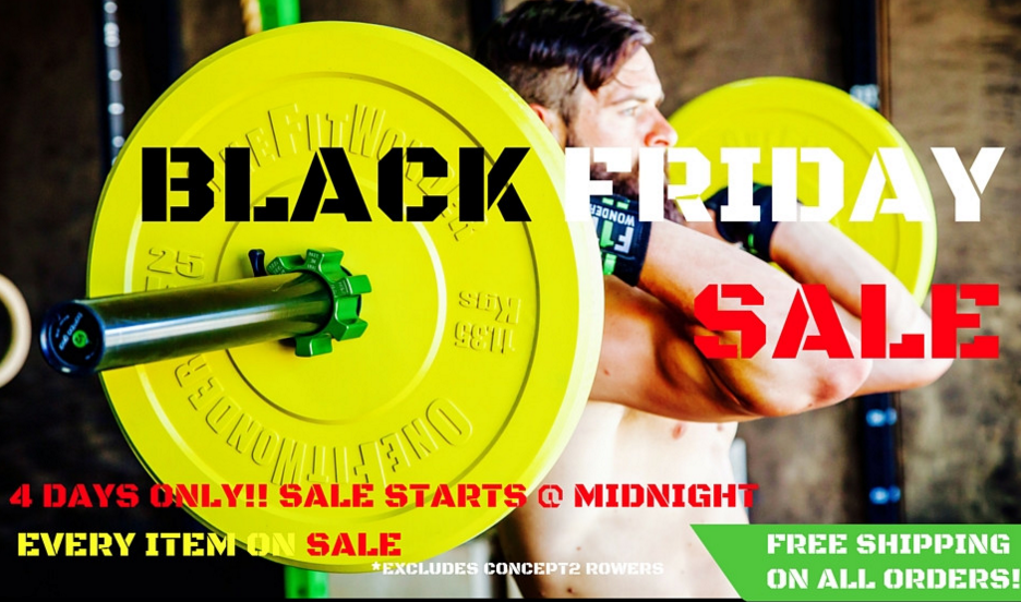 Garage gym black friday deals wod at home